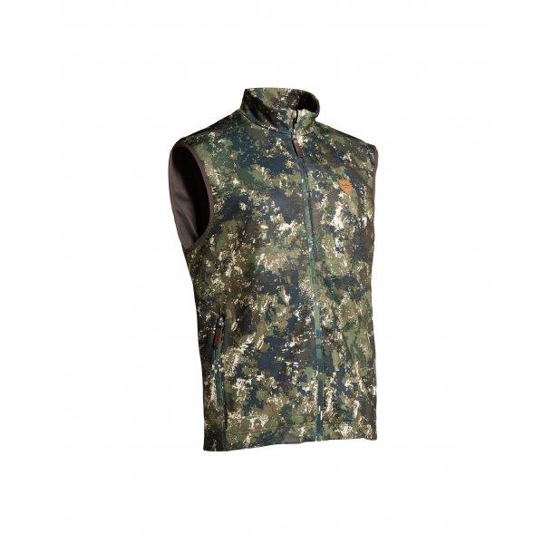 HAKI, camouflage vest.